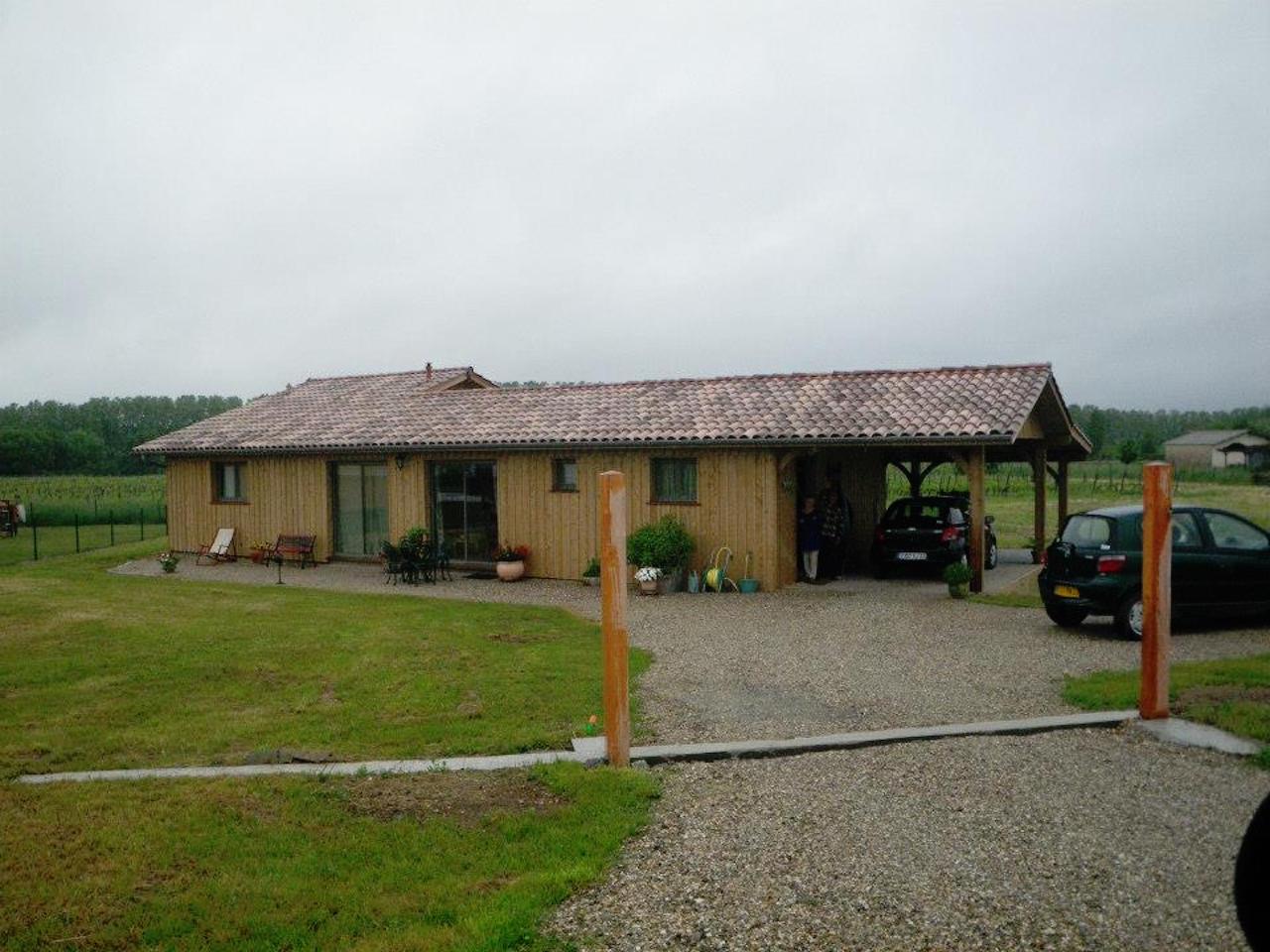 Nos maisons bois sanitoit for Maison bois plain pied