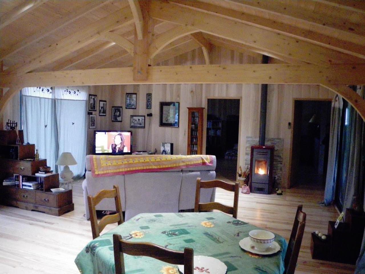 Autre exemple de salon salle manger de 6 m de largeur - Exemple de salon salle a manger ...