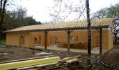Ossature bois et charpente industrielle