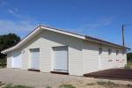 maison de 134m2 – bardage horizontal à clins silverwood