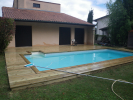 Entourage de piscine en pin de qualité US et margelle en pin