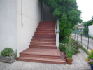 Escalier habillé en ipé