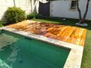 Terrasse en Tiger wood